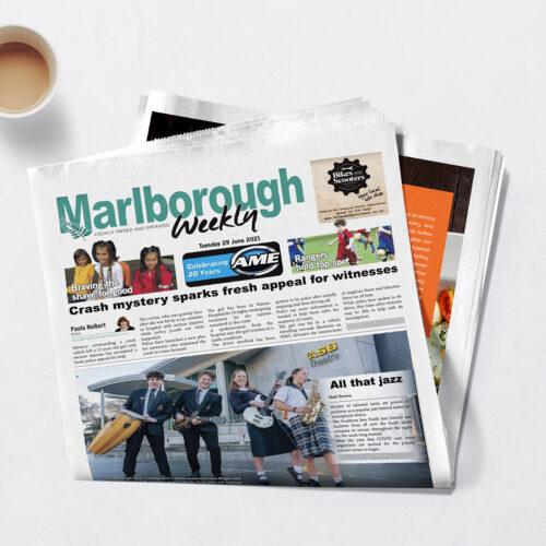 Marlborough Weekly mockup