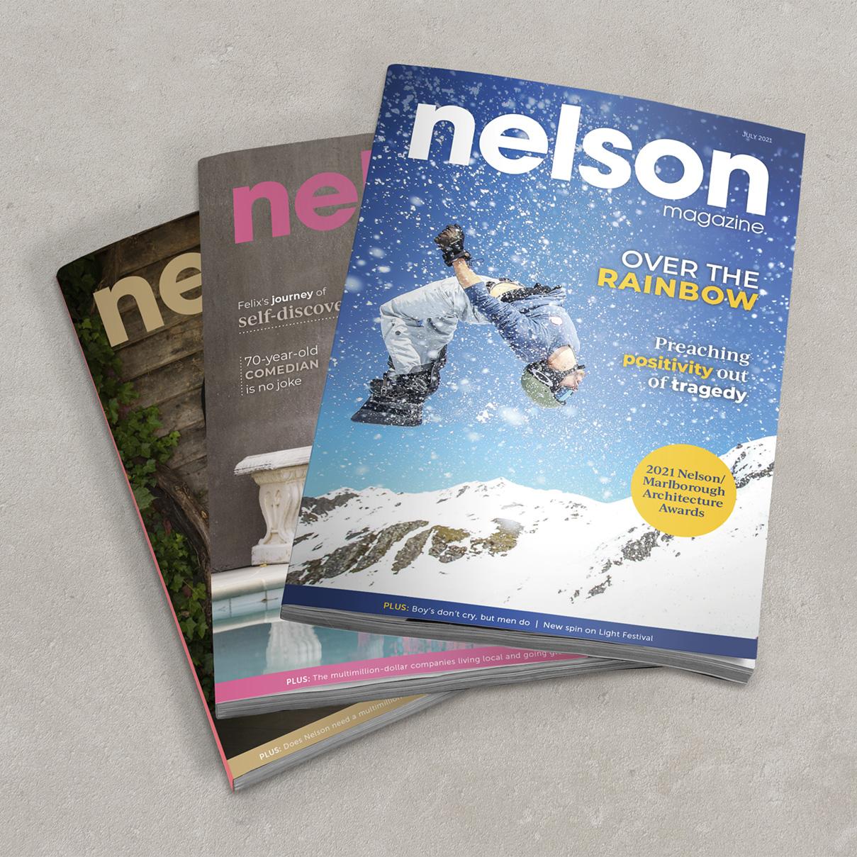 Nelson Magazine mockup