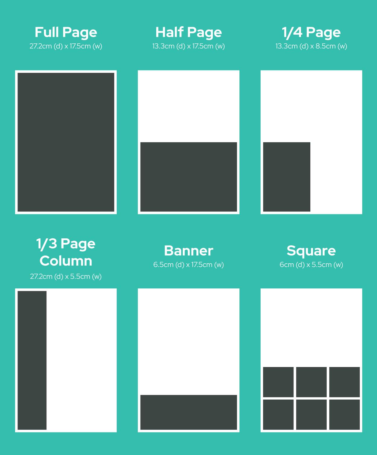 Marlborough Mag ad sizes