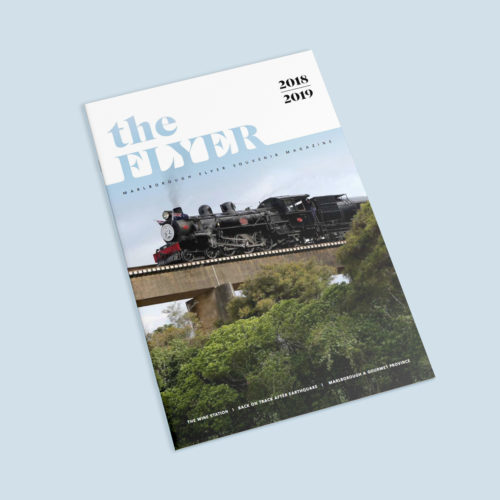 The Flyer Magazine Cover Image