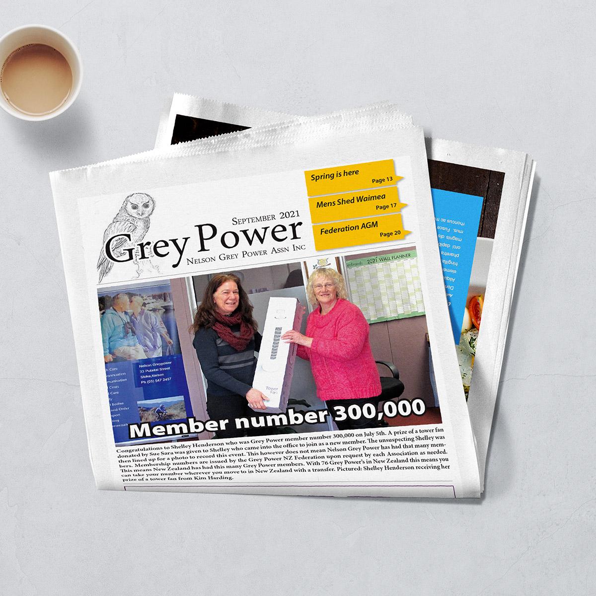 Grey Power Magazine